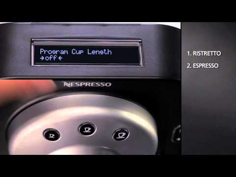 nespresso gemini cs100 pro descaling instructions