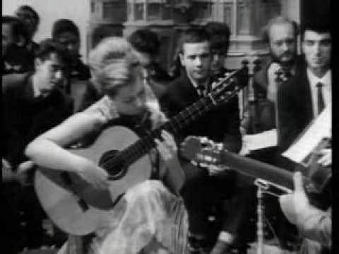 Andrés Segovia (Master Class 1965) with Brigitte Zaczeck (part 2)