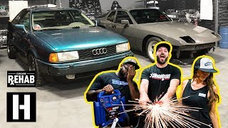 It's Scotto's, It Runs?!? Firing Up the Audi Coupe Quattro 10 Years Later (+944 Progress)