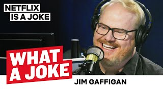 Jim Gaffigan Doesn't Like People | What A Joke | Netflix Is A Joke