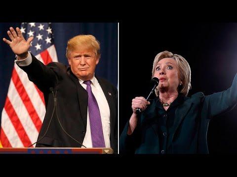 Clinton & Trump lead polls in 5 upcoming primaries