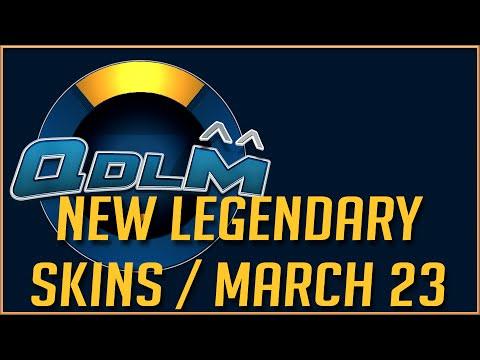 Overwatch - New Legendary skins / March 23, 2016 / BETA Update #1
