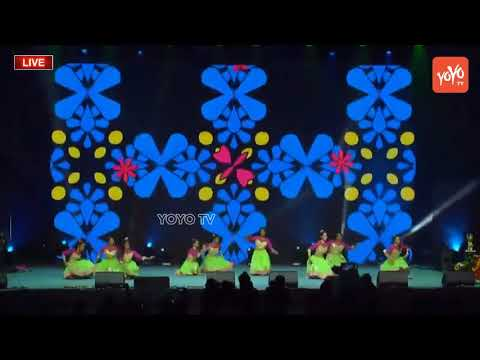 Girls Amazing Dance Performance for Latest Telugu Super Hit Songs 2018 | WTC Houston | YOYO TV
