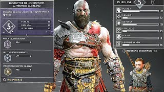 GOD OF WAR 4 - NEW 20 Minutes Gameplay Walkthrough  + Kratos New Gear & Armor PS4 (2018)