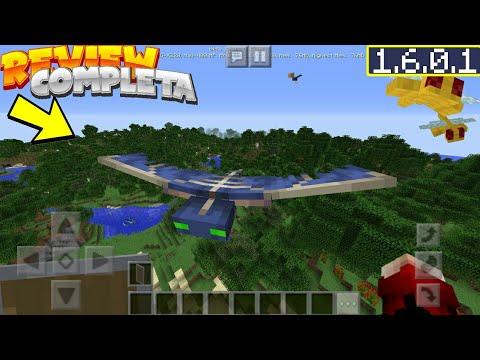 Minecraft Pe 1.6.0.1 Review Completa - Todo Lo Nuevo