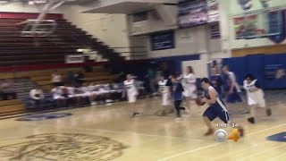 Viral Video: Basketball Player Nails Half-Court Shot