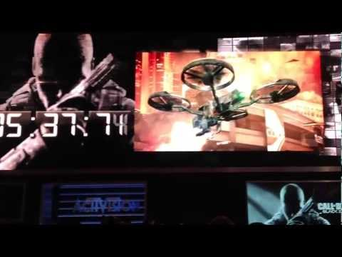 Call of Duty Black Ops 2 Gameplay Exclusive Trailer E3 2012