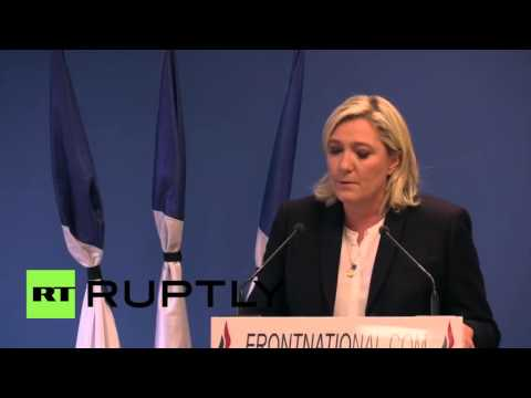 """France: Le Pen calls for nation to """"re-arm"""" in the wake of Paris attacks"""