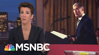 Maddow: Neil Gorsuch Not A Typical Nihilist Donald Trump Nominee   Rachel Maddow   MSNBC