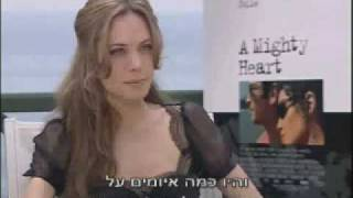 Interview with Angelina Jolie about the conflict in Israel