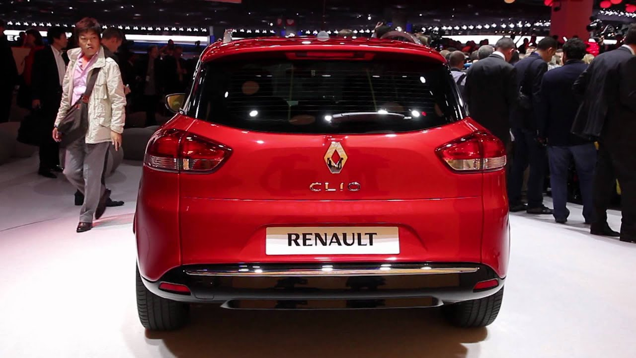 renault clio 4 break mondial de paris 2012 youtube. Black Bedroom Furniture Sets. Home Design Ideas