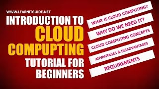Introduction to Cloud Computing, Cloud Computing Explained in Detail | Cloud Computing Tutorials
