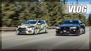 RACING AN R34 GT-R! UltraMotive Cruise III (Vlog)