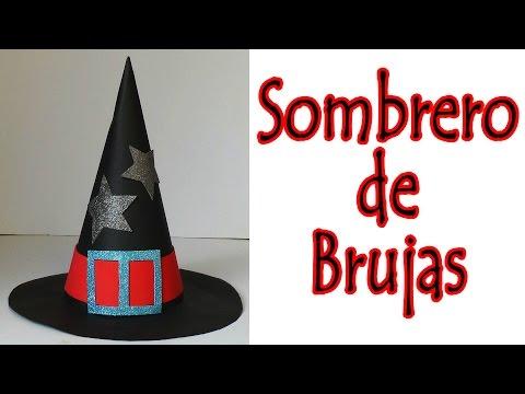 Manualidades para Halloween - Sombrero de bruja | Witch Hat