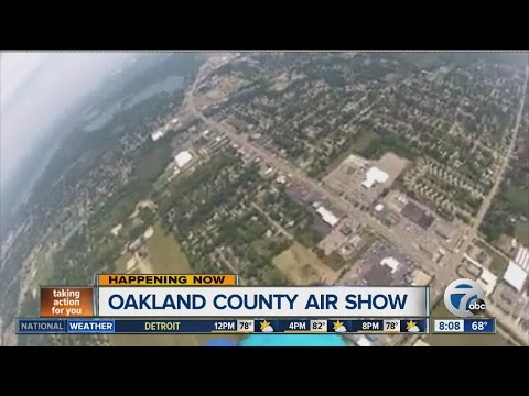 Oakland County air show
