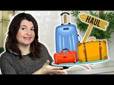 [HAUL] Spécial bagages (Decathlon et Savebag) - Let's go to travel !