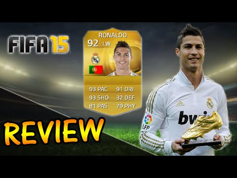 FIFA 15 Ronaldo Player Review Ultimate Team (UT) / Gameplay + In Game Stats (FUT)