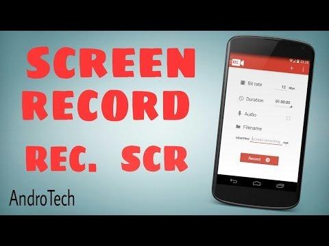 Dos aplicaciones para grabar la pantalla en Android