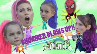 Shimmer BLOWS UP! Zeta Shrinks SPIDER-MAN! | SamLandTV