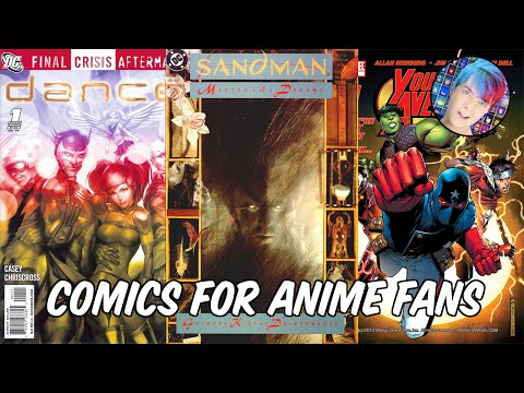 Comics For Anime Fans