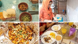 Breakfast to dinner Routine - English Breakfast - cheesy baked potatoes - Mishi ki sehat ka raaz