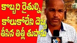 ఉద్దానం కొబ్బరి రైతులను కోలుకోలేని దెబ్బ తీసిన తిత్లీ | Uddanam Cocount Farmer | #TitliCyclone