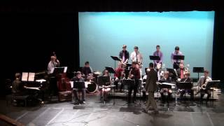 "5/20/2013 Spring Jazz Concert : Jazz Ensemble I ""Big Swing (Schving) Face"""
