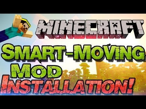 ⇰ Minecraft 1.6.4 Smart Moving Mod - klettern. kriechen und Co.! German Deutsch Mac + Windows mods