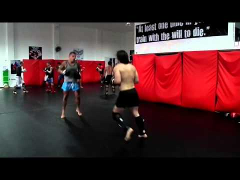 MMA Sparring With JJ Ambrose at Phuket Top Team MMA Training Camp in Thailand Image 1
