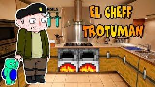 """CHEFF TROTUMAN"" | BOCADILLOS MOD | Mod Review Minecraft"