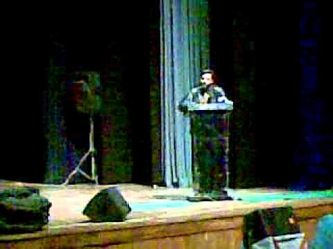 Gojri Geet By Ayaz Saif In Jammu University. video