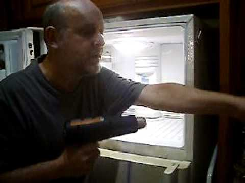 How To  Fix A Noisy GE Refrigerator / Freezer Fan (temporarily)