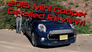 2015 MINI Cooper Hardtop Detailed Review and Road Test