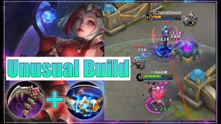 Unusual Build for Lunox Full Gameplay   Mobile Legends:Bang Bang  zkael★