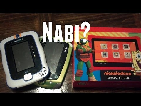 InnoTab. LeapPad. and a... Nabi?!   Learning Tablets!!
