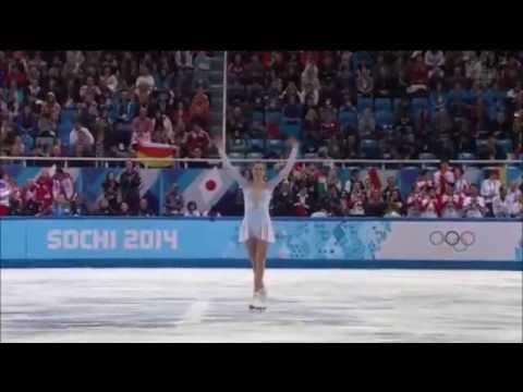 Carolina Kostner - Sochi Winter Olympics 2014 - Team Event (SP) Ave Maria