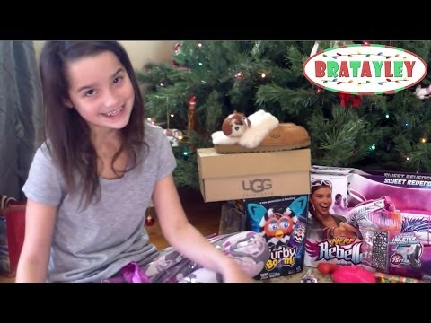 Christmas Morning With Bratayley 2013 | Christmas Gift Haul (...