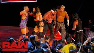 Jordan vs. Elias vs. Dallas vs. Axel vs. The Hardy Boyz - Six-Pack Challenge, Raw, Sept. 19, 2017