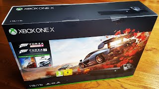XBOX ONE X - Complete Unboxing and Setup