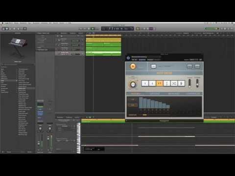 Logic Pro X Deutsch - In 8 Minuten einen Beat bauen ;-) Logic X Tutorial 6 - LogicX