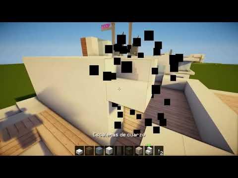 MINECRAFT: Como hacer una casa moderna! - Tutorial de Construccion
