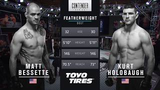 FREE FIGHT   Kurt Holobaugh Delivers Constant Pressure   DWTNCS Week 1 Contract Winner - Season 1