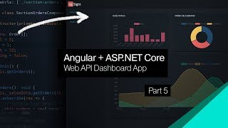ASP.NET Core + Angular Dashboard   05   Sales Charting Component