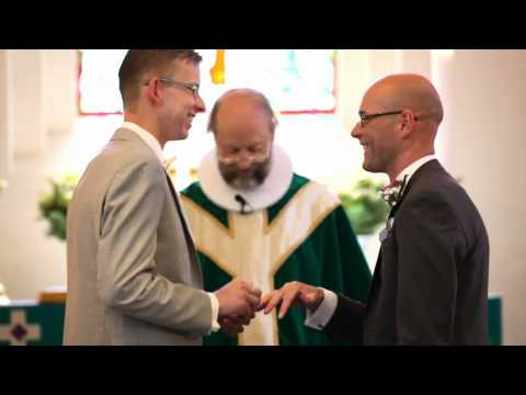 First Danish gay wedding 2012