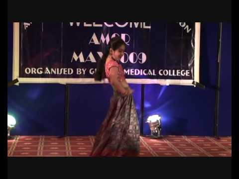 Hrudita Dhannapuneni - Telugu Dance Medley -  Part 1
