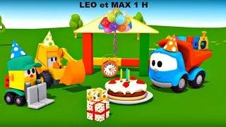 Compilation 1H: Max, Léo le camion et véhicules d'assistances