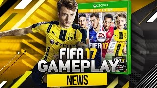 FIFA 17 GAMEPLAY NEWS + EXCLUSIVE PHOTOS OF DEFENDING, FREE KICKS, PENALTIES, DRIVEN FINISH