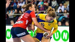 Norway vs Sweden 28:31 ALL Goals & HIGHLIGHTS   Women's handball   2017 World Women's Championship