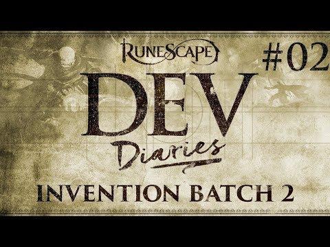 RuneScape Dev Diaries: Invention Batch 2