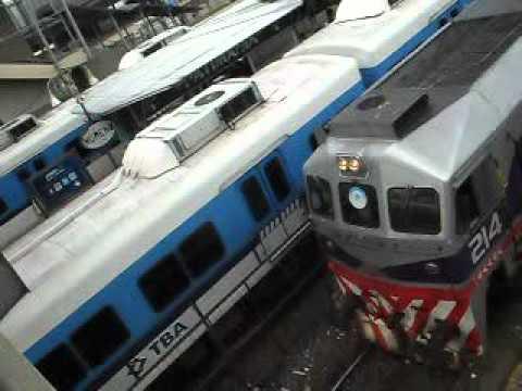 TBA Línea Sarmiento, movimiento de trenes en Moreno - Ferrosaurio (Almagestus)